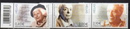 2014 Contemporary Writers Part Set 3 Higher Values MNH - Unused Stamps
