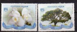 2011 National Symbols Pair MNH - Guatemala