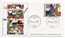 FDC France 1986 - Alberto Magnelli - Virginia - YT 2416 - Paris - FDC