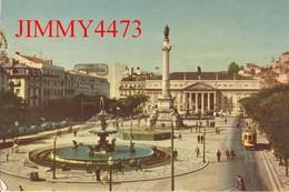 CPM - PRACA D PEDRO IV En 1956 - LISBOA ( Lisbonne ) Portugal - PENTOTHAL SODIQUE - Lisboa