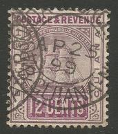BRITISH GUIANA. 12c USED BOURDA POSTMARK. - British Guiana (...-1966)