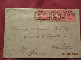 Lettre De 1920 à Destination De Eu - Belgique