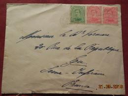 Lettre De 1919 à Destination De Eu - Belgique
