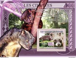 Guinea 2009 Fauna  Nocturnal Mammal, Civets - Guinea (1958-...)