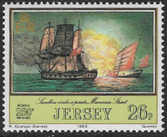 Jersey SG308 1983 Jersey Adventurers (1st Series) 26p Unmounted Mint [39/32274/25D] - Jersey