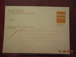Carte De F.M De 1967 - Cartes De Franchise Militaire