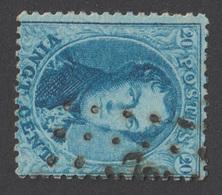 COB 15 - Dent. 14 ½ - Obl. Pts - 1863-1864 Medallions (13/16)