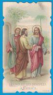 JESUS ET LES DISCIPLES A EMMAUS A & M. B. 1901 / EVANGILE SELON SAINT LUC - Images Religieuses