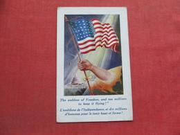 US Flag  The Emblem Of Freedom   >     Ref 3372 - Patriotic