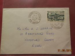 Lettre De 1952 à Destination De Woodford Essex - Marcophilie (Lettres)