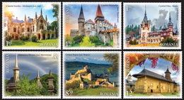 Romania 2019 / Welcome To Romania / Set 6 Stamps - Holidays & Tourism