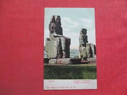 Egypt-- Thebes-- Colosses De Memnon    Ref 3372 - Egypt