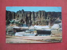 Egypt-- Thebes- Temple Of Der El Barhi   Ref 3372 - Egypt