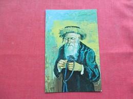 Jewish  Examining The Tefilin Art Work By Morris Katz  Ref 3372 - Europe