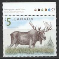 2003  $5 Moose  Sc 1693 MNH - Neufs
