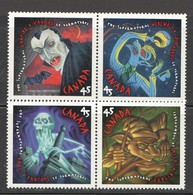1997  The Supernatural' Vampire, Werewolf, Gost, Goblin 2 Se-tenant Pairs Sc 1665-8 MNH - 1952-.... Reign Of Elizabeth II