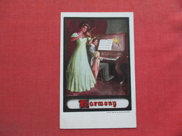 Playing A Piano &  Violin  Harmony           Ref 3373 - Couples