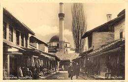 Strassenzene In Der Carsija Sarajevo - Minaret - Bosnie-Herzegovine