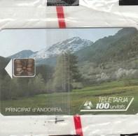 PRINCIPAUTE D'ANDORRA..TELETARJA  100 UNITES...NEUVE SOUS BLISTER - Andorra