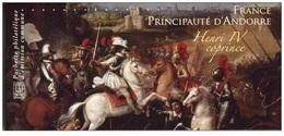 France 2012 ** Henri IV Joint Issue France-Andorre Philatelic Souvenir - Francia