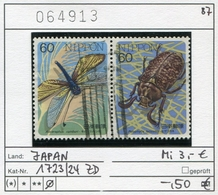 Japan - Japon - Nippon - Michel 1723-1724 - Oo Oblit. Used Gebruikt4 - 1926-89 Emperor Hirohito (Showa Era)