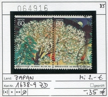 Japan - Japon - Nippon - Michel 1638-1639 - Oo Oblit. Used Gebruikt4 - 1926-89 Emperor Hirohito (Showa Era)