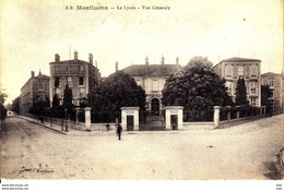 03. Allier : Montlucon : Le Lycée : Vue Générale . - Montlucon