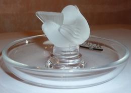 BAGUIER-VIDE-POCHE-RENE-LALIQUE-COUPELLE-OISEAU-CRISTAL - Glass & Crystal