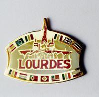 Pin's Ville Lourdes - VIL/1 - Villes
