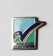 Pin's Ville Ponthieu Marquenterre Somme  - VIL/1 - Città