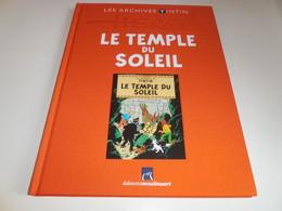 LES ARCHIVES TINTIN/ LE TEMPLE DU SOLEIL/ TBE - Tintin
