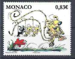 2014 MONACO 2921** Bande Dessinée, Marsupilami - Monaco