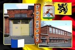 Postcards, REPRODUCTION, Municipalities Of Belgium, Turnhout, Duplex 346 To 396, 51 Pcs. - Maps