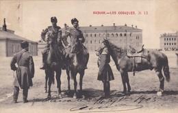 RUSSIE--RUSSIA---LES COSAQUES--N° 13  ( Chevaux, Cavaliers )--voir 2 Scans - Russie