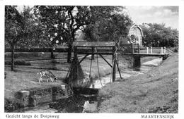 Gezicht Langs De Dorpsweg  Maartensdijk NEDERLAND - Bilthoven