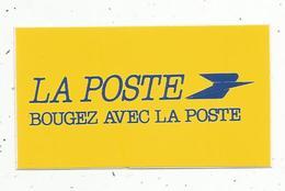 Autocollant , LA POSTE ,  Bougez Avec La POSTE - Stickers