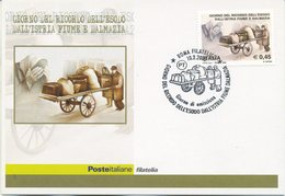 ITALIA - FDC MAXIMUM CARD 2005 - ESODO DALL'ISTRIA FIUME E DALMAZIA - ANNULLO SPECIALE ROMA - Cartoline Maximum