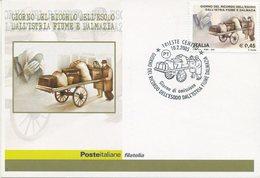 ITALIA - FDC MAXIMUM CARD 2005 - ESODO DALL'ISTRIA FIUME E DALMAZIA - ANNULLO SPECIALE TRIESTE - Cartoline Maximum