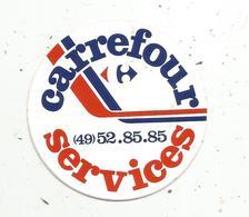Autocollant , CARREFOUR SERVICES - Autocollants