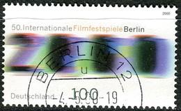 BRD - Mi 2102 - OO Gestempelt (I) - 100Pf     Filmfestspiele Berlin - Oblitérés