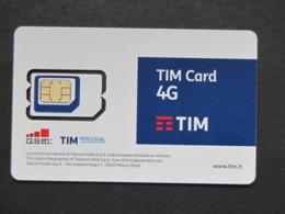 TIM CARD GSM 4G NUOVA - NON ATTIVA SOLO PER COLLEZIONISMO - Italia