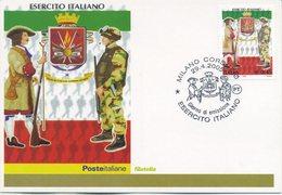 ITALIA - FDC MAXIMUM CARD 2005 - ESERCITO ITALIANO - ANNULLO SPECIALE - Maximumkarten (MC)