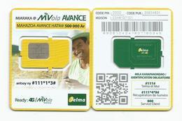 MADAGASCAR MADAGASKAR  Carte SIM NEUVE 4G  /  MALAGASY NEW SIM Card TELMA MADAGASCAR - Madagaskar