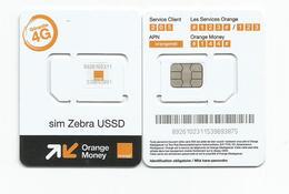 Madagascar Malagasy Carte SIM NEUVE ORANGE  MONEY  /  NEW SIM Card ORANGE MONEY  MADAGASCAR - Madagascar
