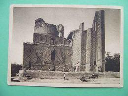 SAMARKAND 1929 Ruins Of Bibi Khanym. Russian Postcard. Uzbekistan - Ouzbékistan
