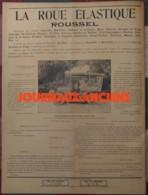 1904 LA ROUE ÉLASTIQUE - ROUSSEL - VOITURE 24 CH DELAHAYE MODELE 1904 - PUBLICITÉ - 1900 - 1949