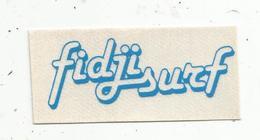 Autocollant , FIDJI SURF ,bleu - Autocollants