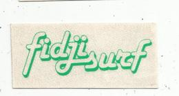 Autocollant , FIDJI SURF , Vert - Autocollants