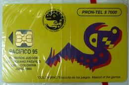 COLUMBIA - Chip - $7000 - Pacifico '95 - Mascot - 06/95 - Mint Blister - Kolumbien