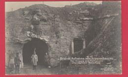 Loncin - Original-Aufnahme Vom Kriegsschauplatz - Der Eingang Zum Fort Unter Deutscher Bewachung ( Voir Verso ) - Guerre 1914-18
